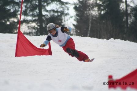 Сноубордистка Галатович Вікторія прагне перемоги