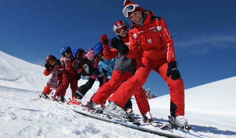Як навчити дитину де правий поворот, де лівий на лижах?