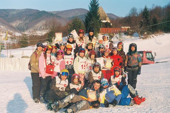 Чемпіонат України зі сноубордингу 2012