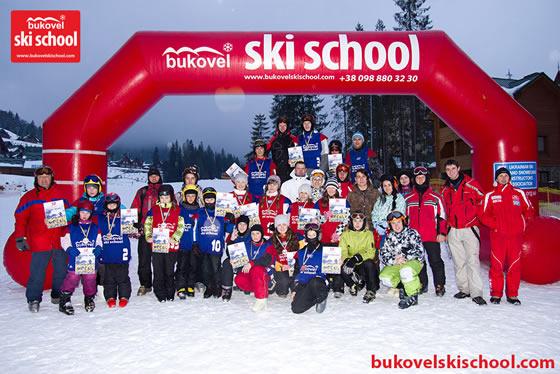 Міжнародні змагання з могулу Шалені бугри 2 та 3 лютого 2013 р.