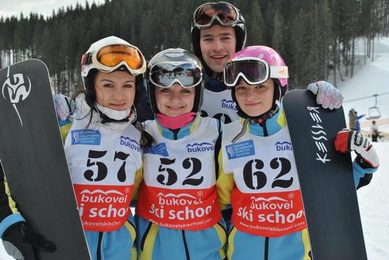 Універсіада зі сноубордингу та гірськолижного спорту 2012
