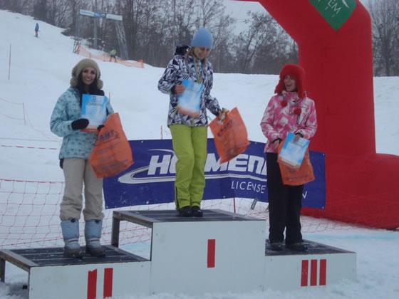 Переможці серед жінок: Щербанюк Оксана - 1 місце, Юнко Уляна - 2 місце, Штокало Оксана - 3 місце