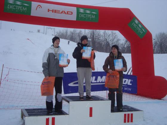 Переможці серед юніорів: Хомут Юрій - 1 місце, Масира Олег - 2 місце, Зозуляк Петро - 3 місце