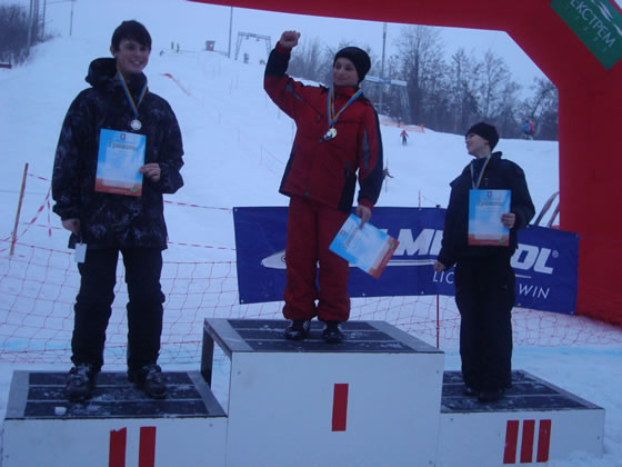 Переможці серед юнаків: Мончак Назар - 1 місце, Зілько Олександр - 3 місце