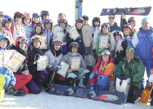 Міжнародні старти зі сноубордингу 2013