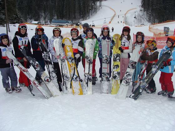 Міжнародний день сноубордингу і Snowboard race 2013