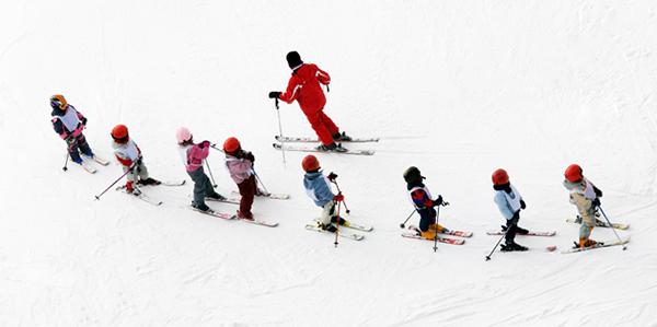Як позбавитися статичних поз на лижах?