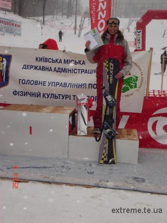 Бронзова призерка змагань - Гречин Галина
