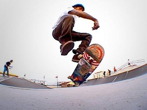 Трюк 360 фліп (360 flip) на скейтборді