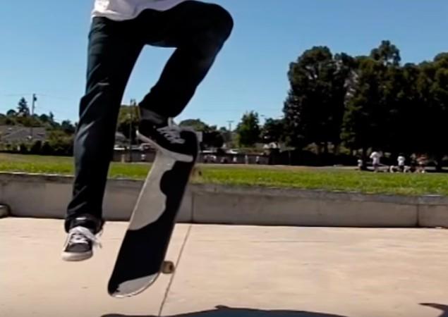 Трюк FrontSide Pop shove it на скейтборді