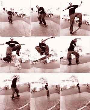 Трюк Хардфліп (Hard Flip) на скейтбордингу