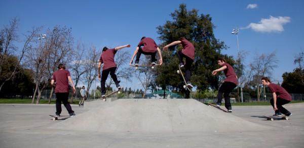 Трюк Оллі (Ollie) на скейтборді