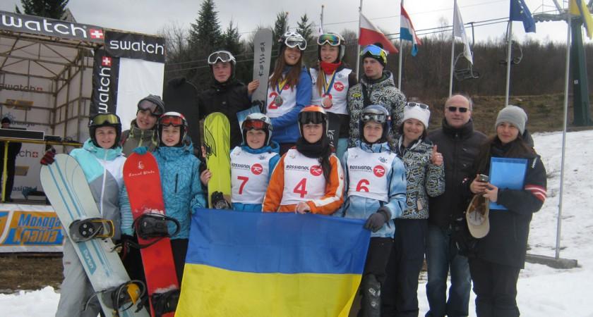 Чемпіонат України зі сноубордингу 2015