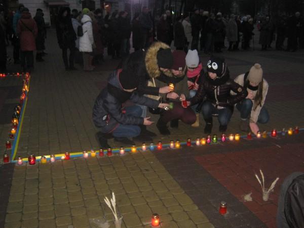 свічка Голодомор 2015