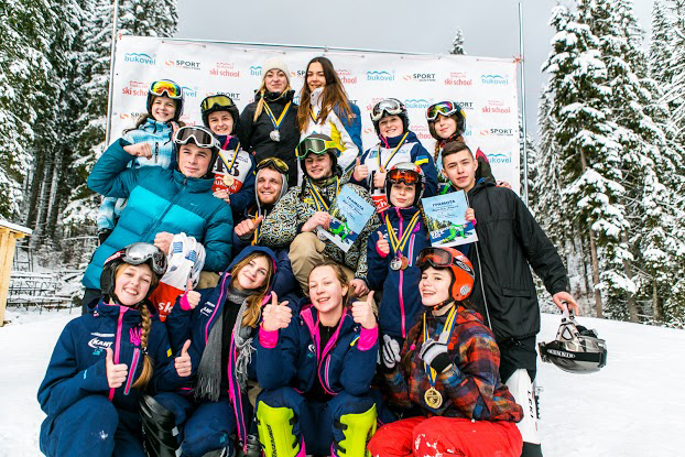 Всеукраїнські змагання з сноуборду 15-16 січня 2016 року в Карпатах