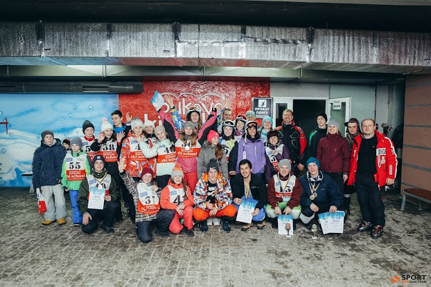 Наші спортсмени на Кубку України з лижного фрістайлу 26-29 січня 2016 року в Буковелі