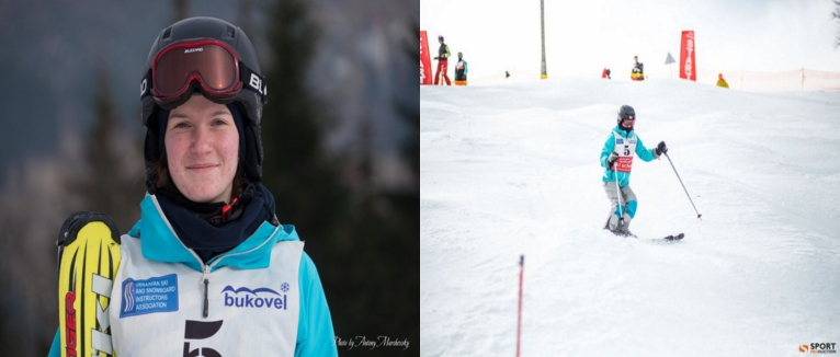 Катя Дерлиця (технічний коледж ТНТУ) здобула срібну та бронзу нагороди в Чемпіонаті України з лижного фрістайлу 2016 року