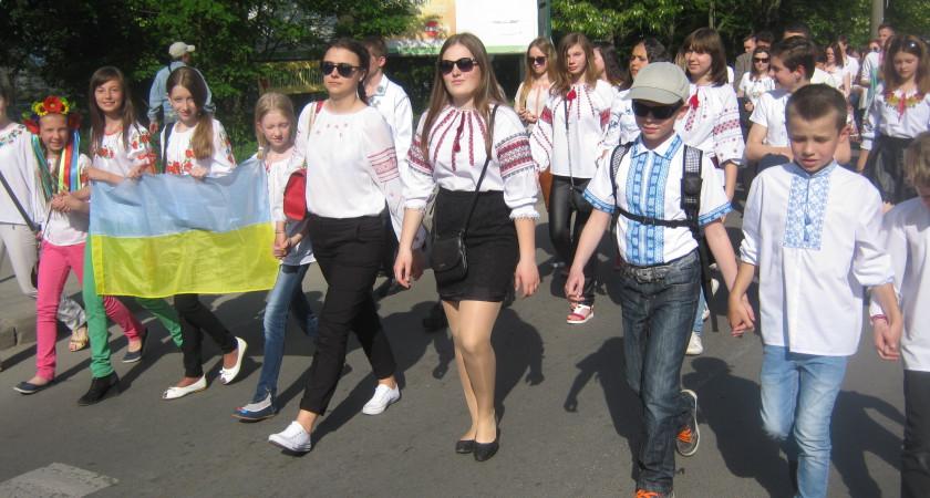 Відзначення Дня Героїв у Тернополі