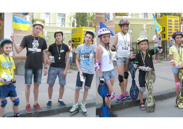 призери-скейти ролики
