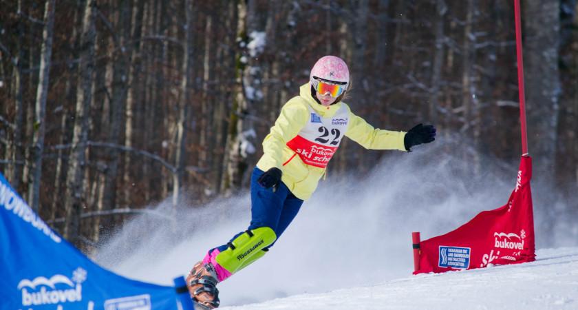 9 нагород – перший здобуток тернопільських сноубордистів у новому сезоні 2017 року