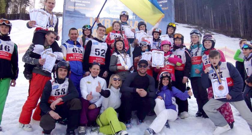 18 нагород  Чемпіонату України з лижного фрістайлу 2017 р. у команди СДЮСШ «Екстрім»  м. Тернополя та Тернопільської області