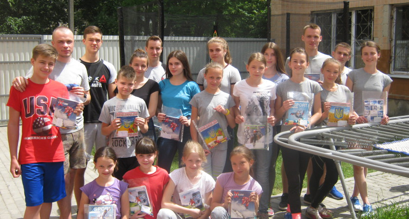 Весняні змагання з  фізичної підготовки   СДЮСШ «Екстрім»  м. Тернополя  в  травні-червні  2017 р.