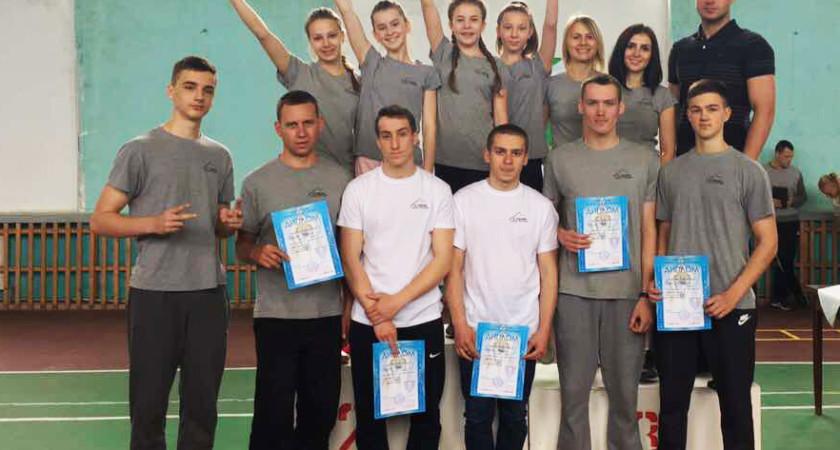 9 нагород  Всеукраїнських змагань з  ЗФП у фрістайлістів  Тернопільської СДЮСШ «Екстрім»
