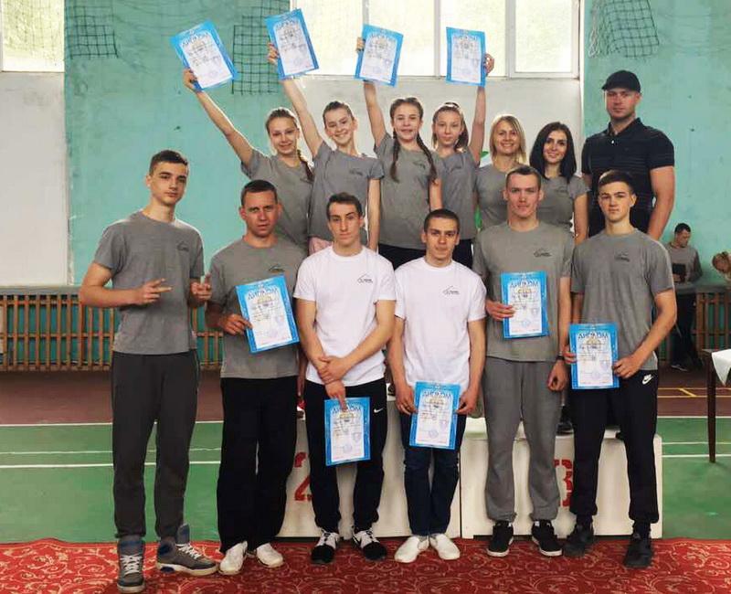 команда - призери Берегово