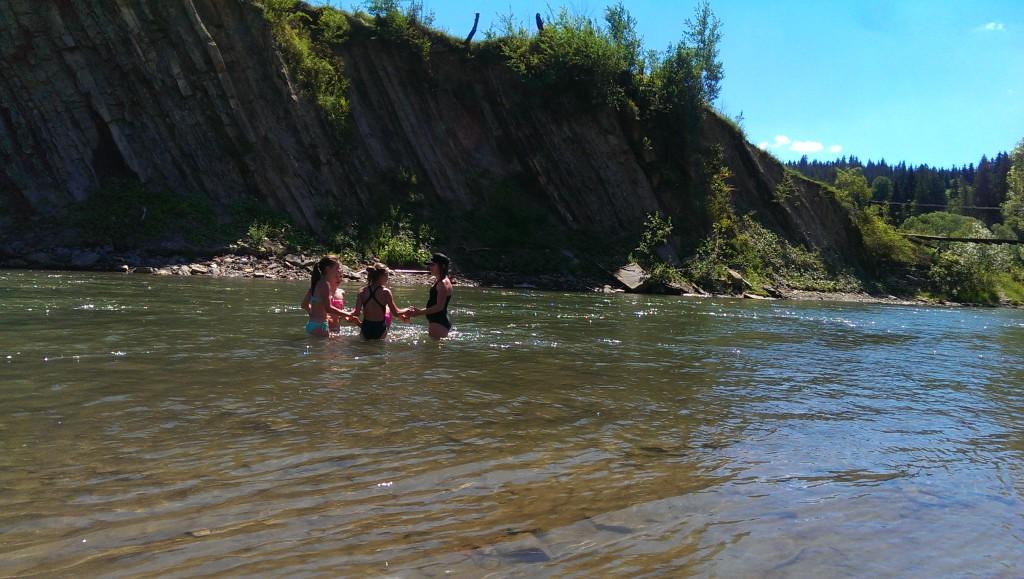 плавання в верховині