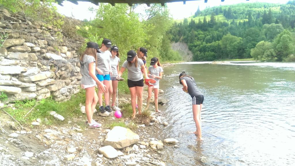 скарби квесту в річці