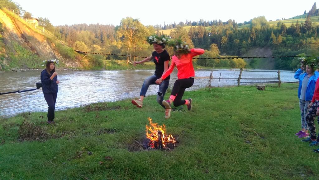 стрибок через вогонь