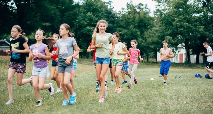 Оздоровлення вихованців спортшколи «Екстрім» в таборі «Збруч»