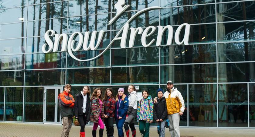 Спортсмени-сноубордисти провели НТЗ у Литві