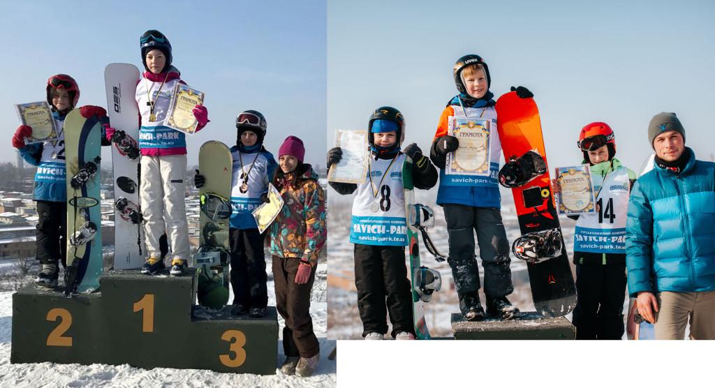 молодші призери