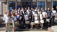 Тернопільська міська рада нагородила кращих працівників спортивної галузі міста з нагоди Дня фізичної культури і спорту