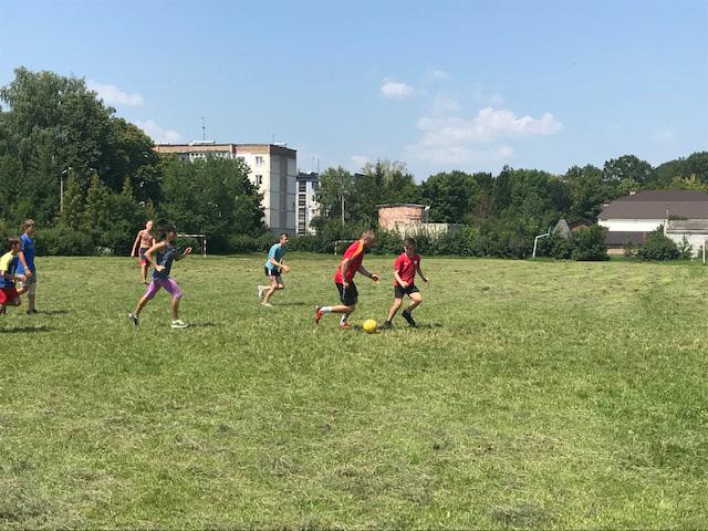 футбол Збруч 2018