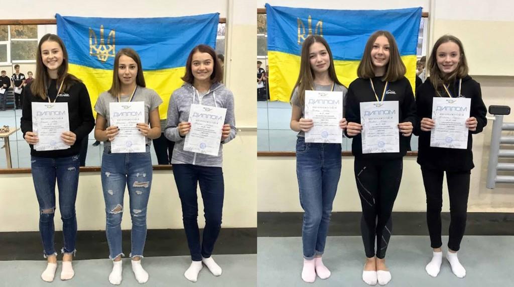 дівчата-призерки ЗФП
