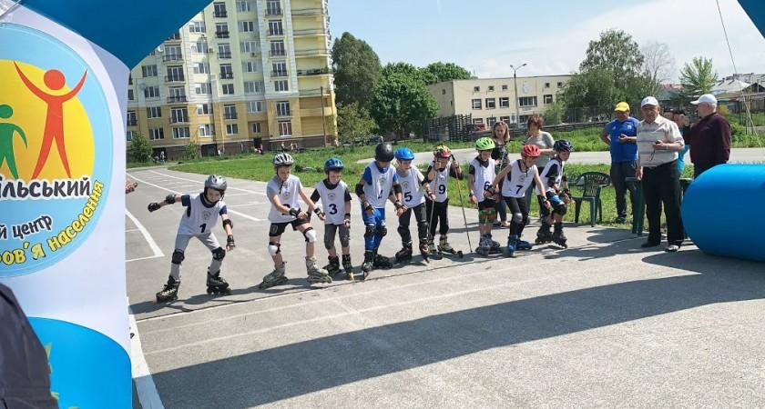 Змагання на роликових ковзанах «Хто ти майбутній Олімпієць»