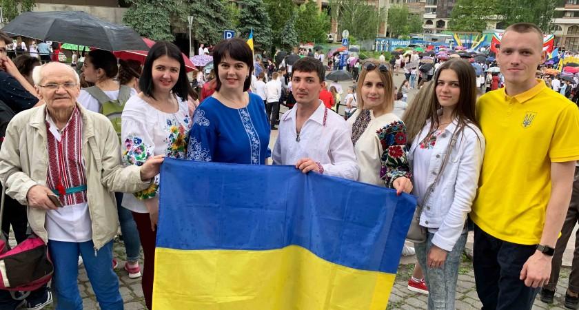 У Тернополі пройшов марш до Дня Герої, в якому взяла участь СДЮСШ «Екстрім»