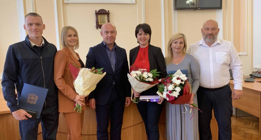 Мер Тернополя Сергій Надал відзначив кращих у місті фахівців галузі  фізичної культури і спорту